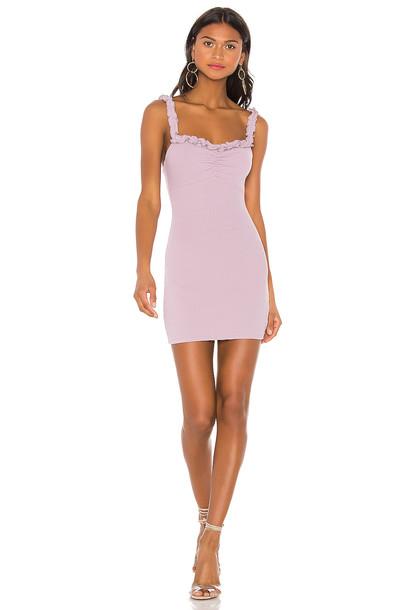 Privacy Please Zinnia Mini Dress in purple