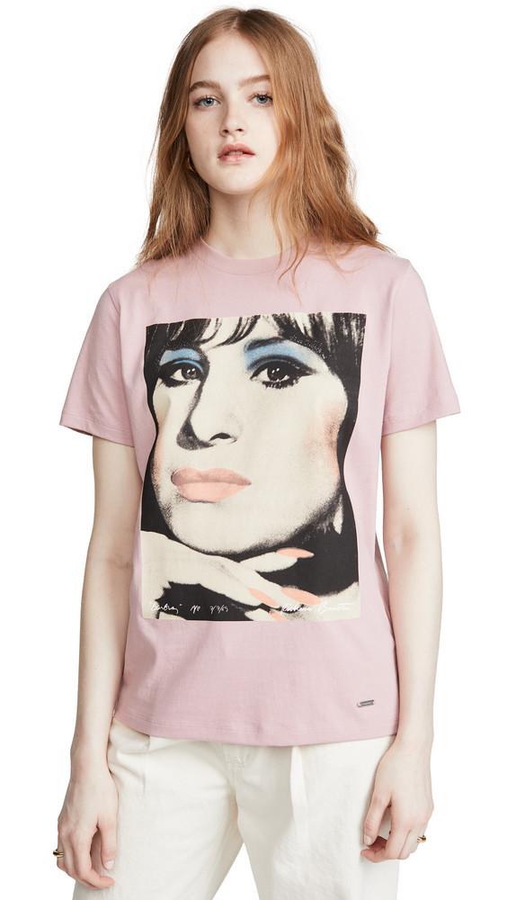 Coach 1941 Barbra Streisand T-Shirt in pink