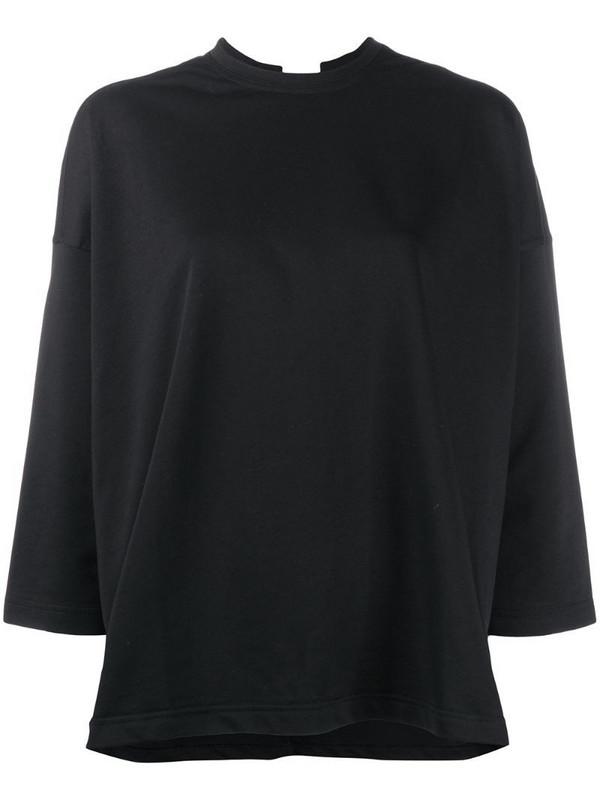 Sofie D'hoore Tissot slit sweatshirt in black