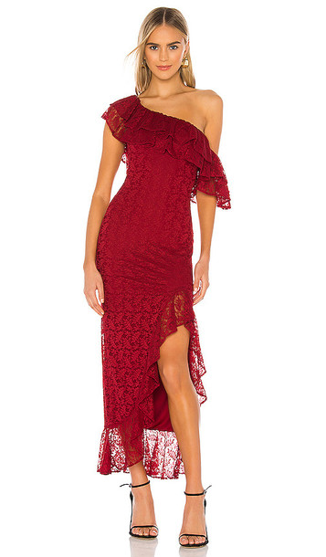 Lovers + Friends Lovers + Friends Gabriela Maxi Dress in Red