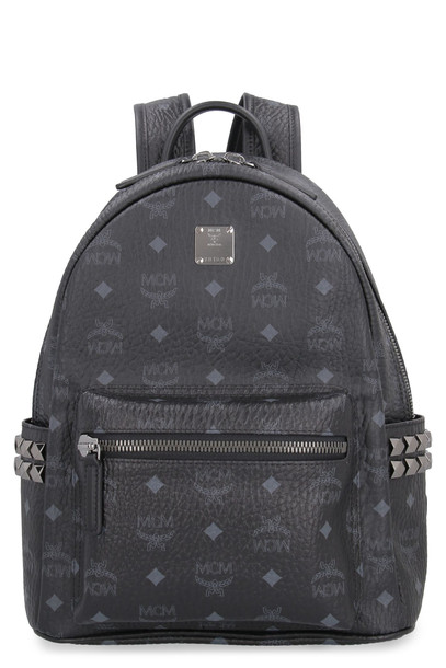 MCM Stark Side Studs Visetos Backpack in black