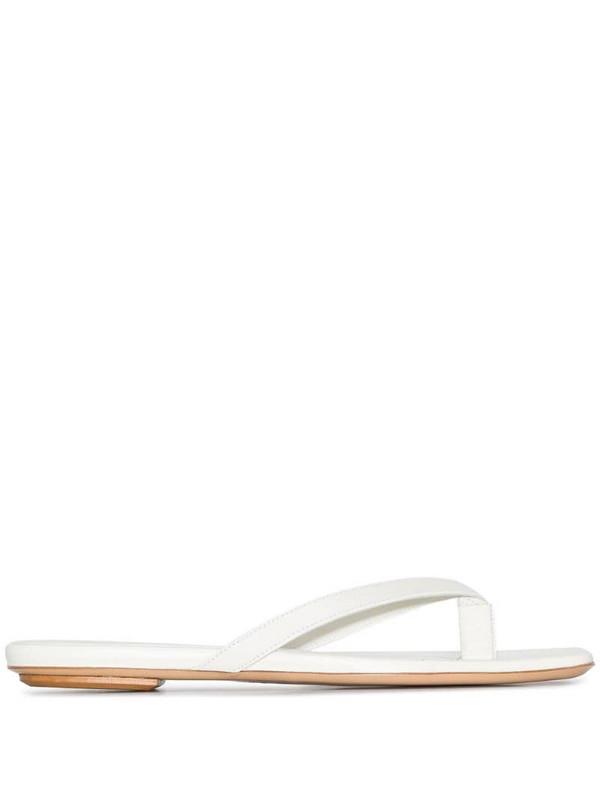 Gia Couture x Pernille Teisbaek Perni 01 sandals in white