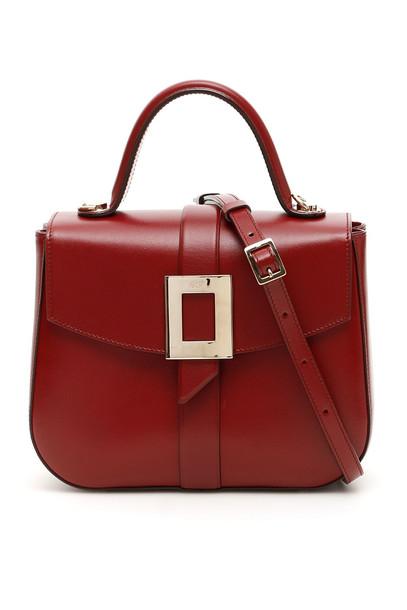 Roger Vivier Beau Vivier Bag in red