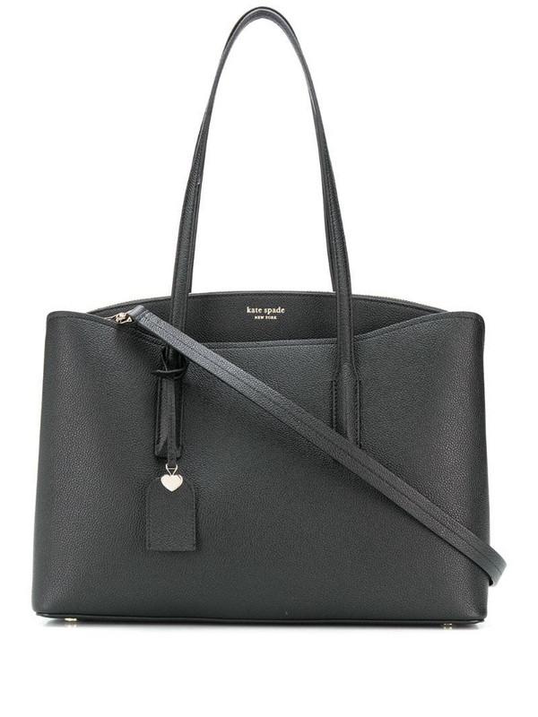 Kate Spade Margaux hanging tag large tote bag in black