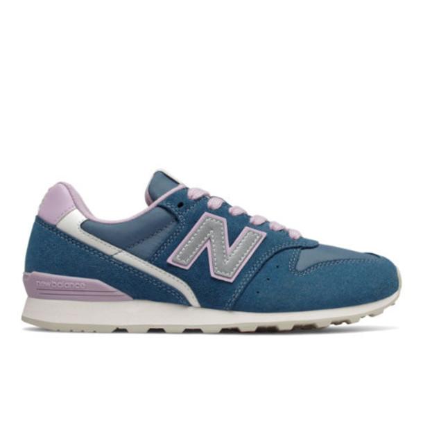 New Balance 996 Women's Running Classics Shoes - Blue/Purple (WL996AE)