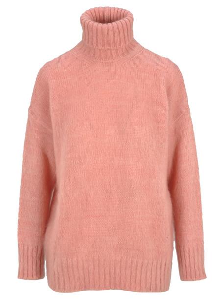 N.21 N21 High Neck Knit Jumper in pink