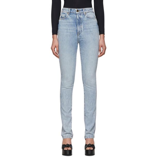 Khaite Blue Daria Jeans