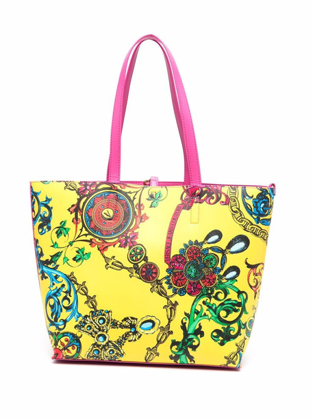 Versace Jeans Couture Regina Baroque tote bag - Yellow