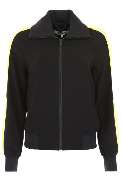 Kenzo Bamboo Tiger Jacket in black