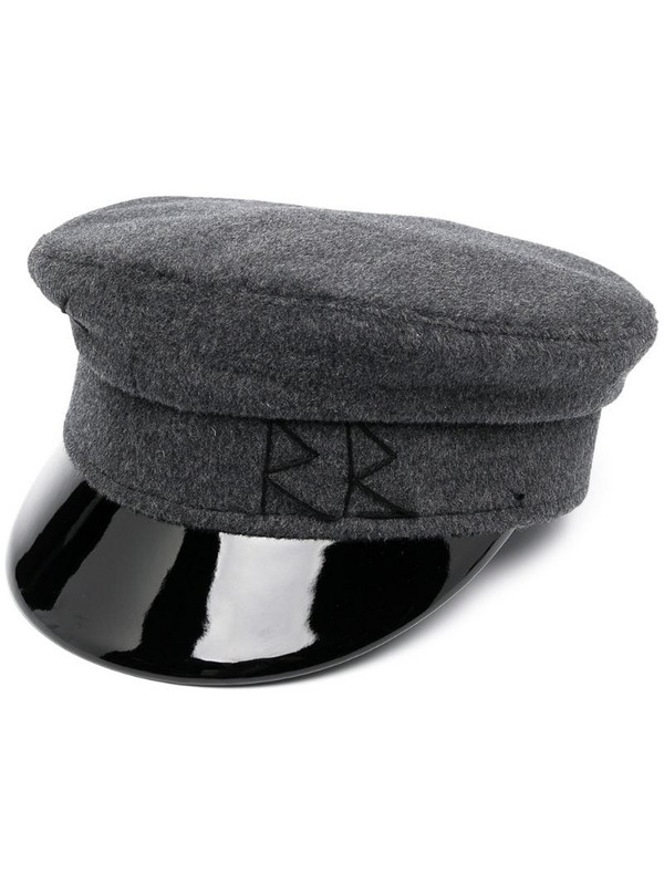 Ruslan Baginskiy embroidered logo sailor hat in grey