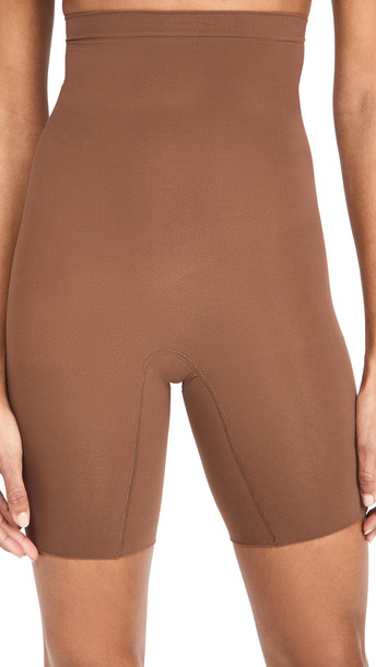 SPANX Higher Power Shorts in brown