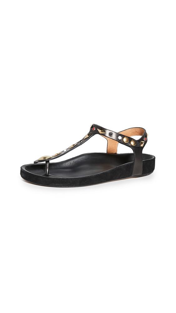Isabel Marant Enore Sandals in black