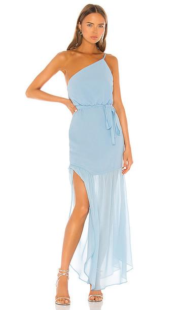 MAJORELLE Monalisa Gown in Blue