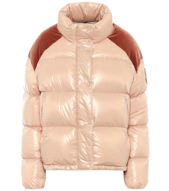 Moncler Chouette down jacket in beige