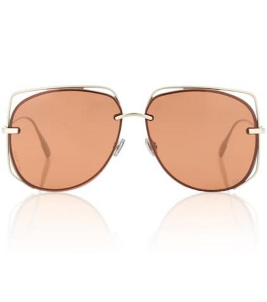 Dior Sunglasses DiorStellaire6 square sunglasses in brown