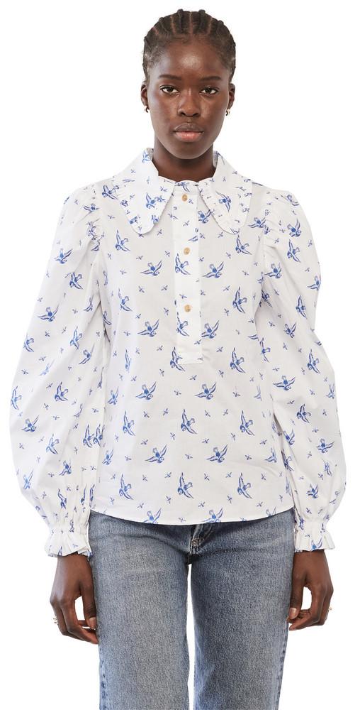 MUNTHE Tosca Shirt in blue