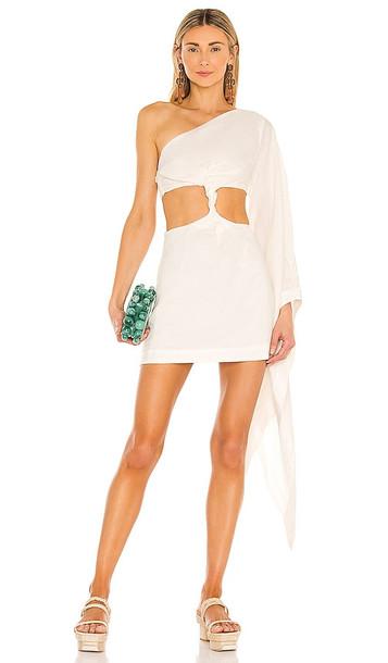 Cult Gaia Lucienne Dress in White