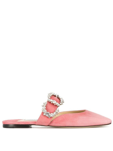 Jimmy Choo Gee flats in pink