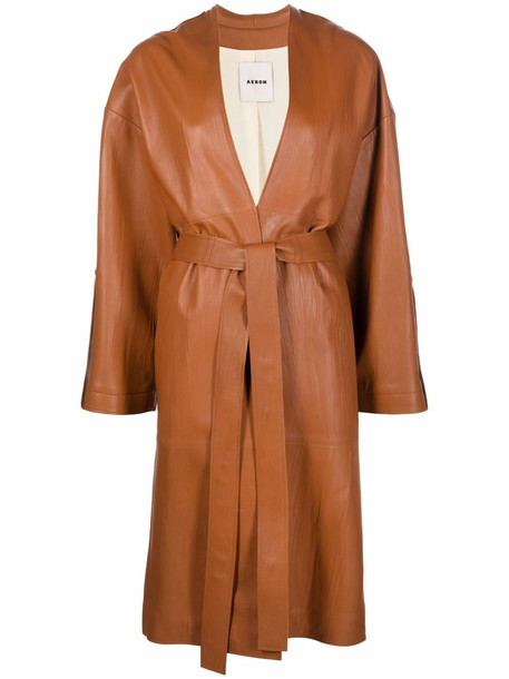 Aeron Liliana lambskin coat - Brown