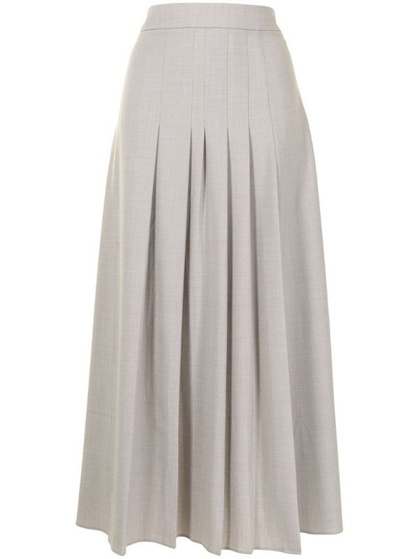 Anna Quan Sable skirt in brown