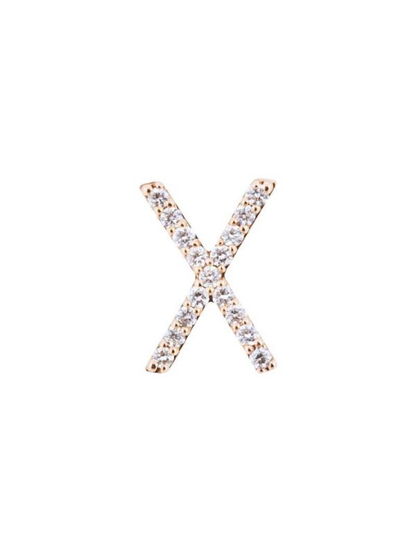 ALINKA ID diamond stud earring in metallic