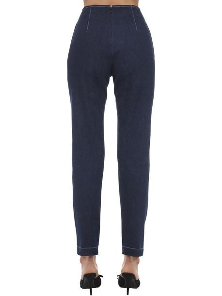 GIUSEPPE DI MORABITO Embellished Denim Jeans in blue