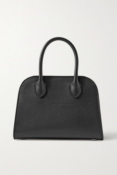 The Row - Margaux 7.5 Leather Tote - Black