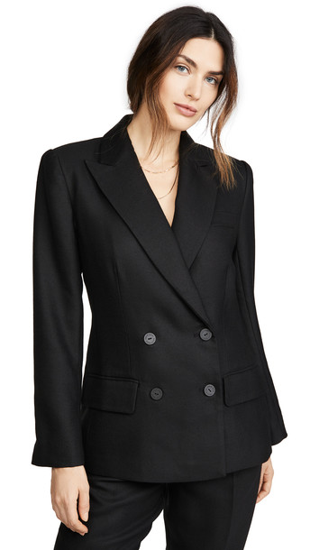 ANINE BING James Blazer in black