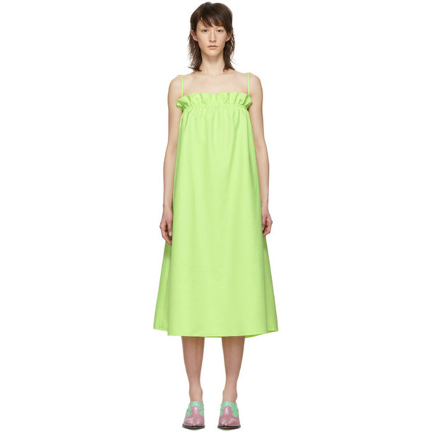Maryam Nassir Zadeh Green Glory Dress