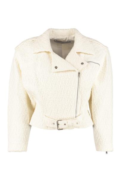 IRO Wool Zipped Jacket in white