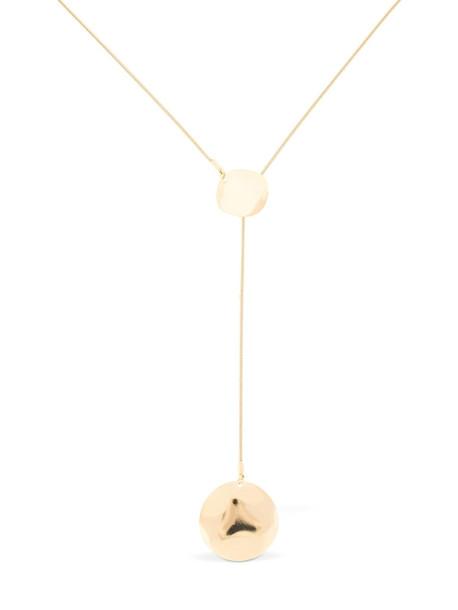 ISABEL MARANT Adjustable Petal Necklace in gold