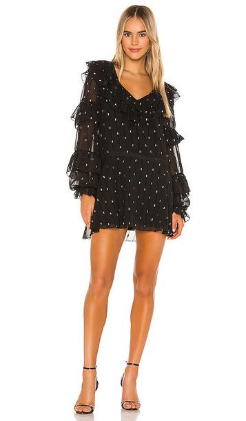 Tularosa Jeannie Dress in Black