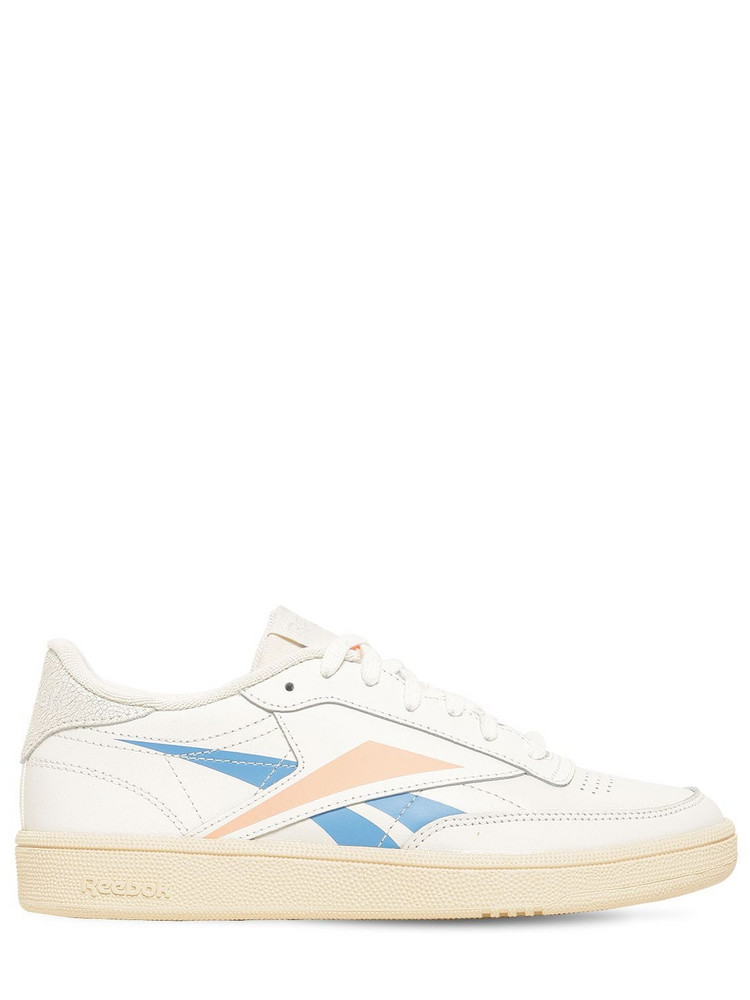 REEBOK CLASSICS Club C 85 Leather Sneakers in white