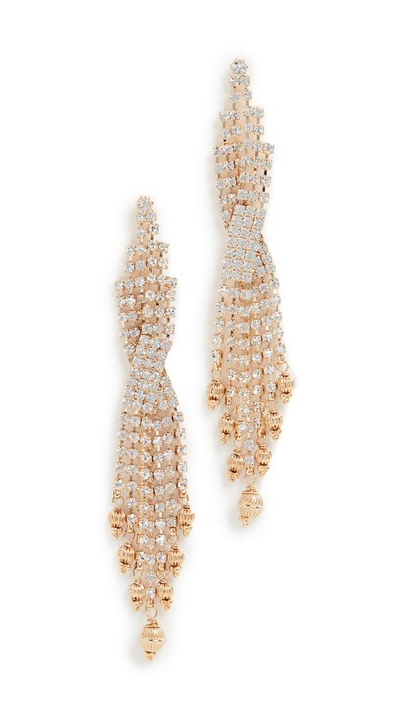 GAS Bijoux Bo Sofia Strass Earrings in gold