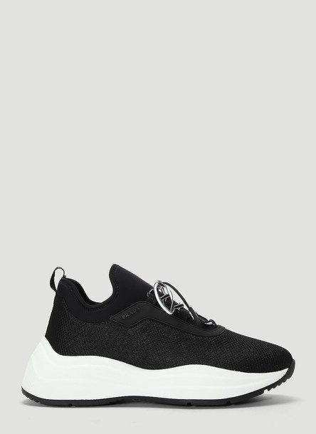 Prada Neoprene Sneakers in Black size EU - 40