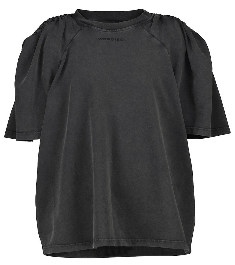 Y/PROJECT Cotton T-shirt in black