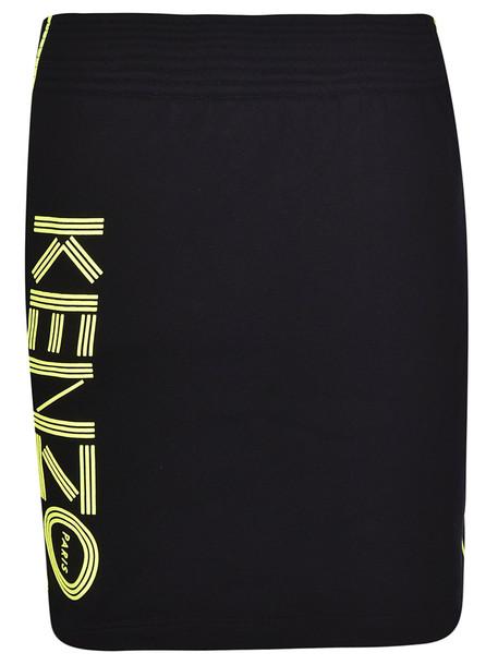 Kenzo Side Logo Detail Skirt in black
