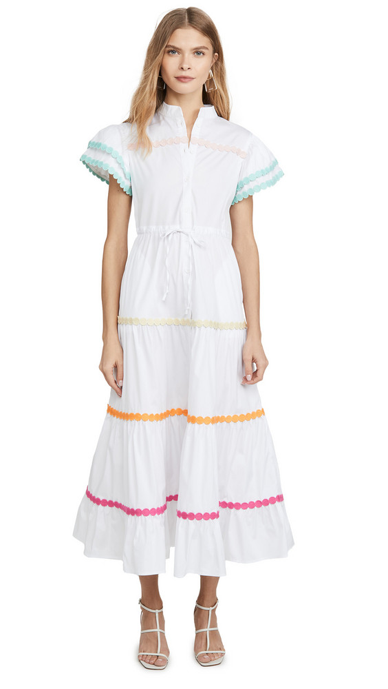 CeliaB Baba Dress in white