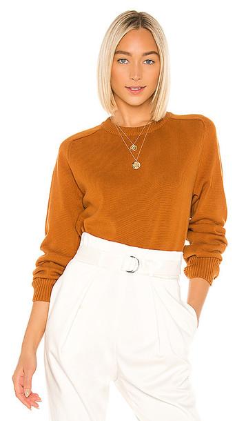LPA Miles Sweater in Burnt Orange