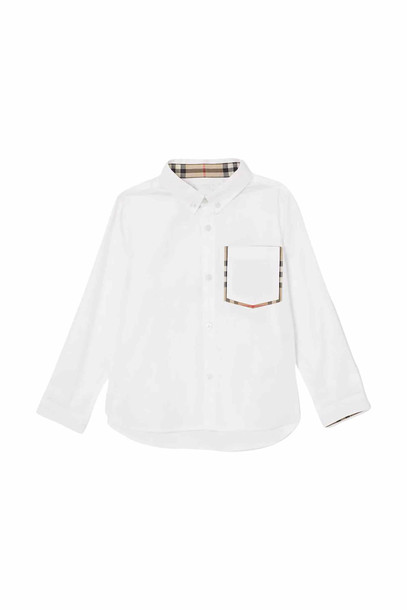 Burberry Oxford Shirt in bianco