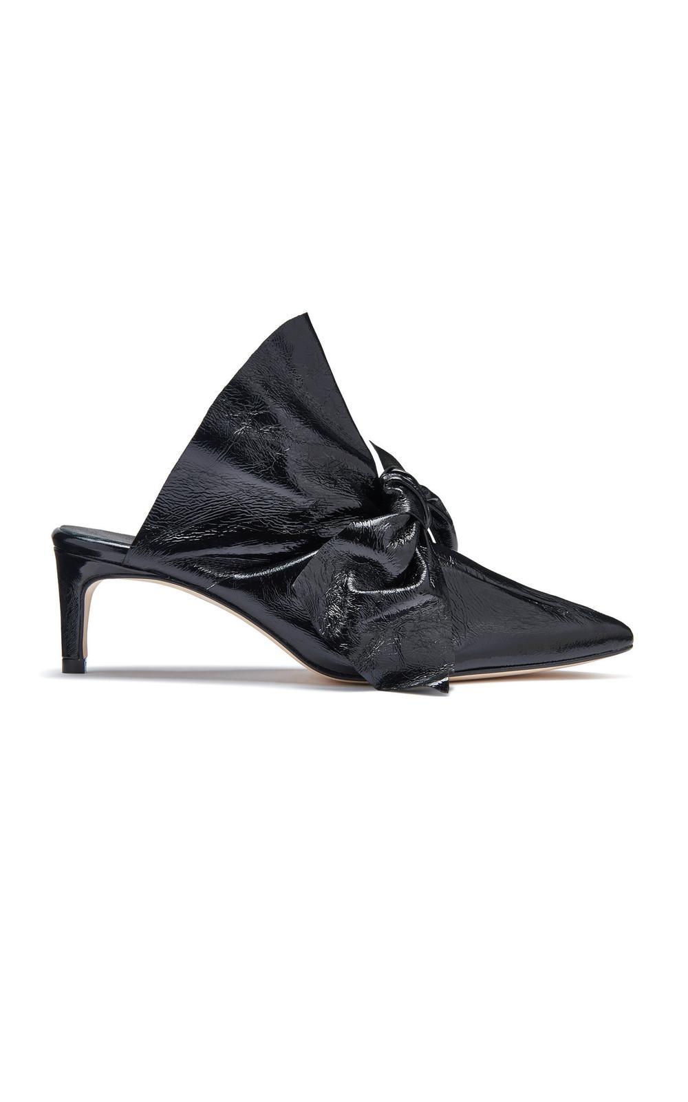 Miista Paulette Gloss Mule in black