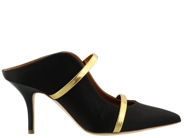 Malone Souliers Maureen Pump in black / gold