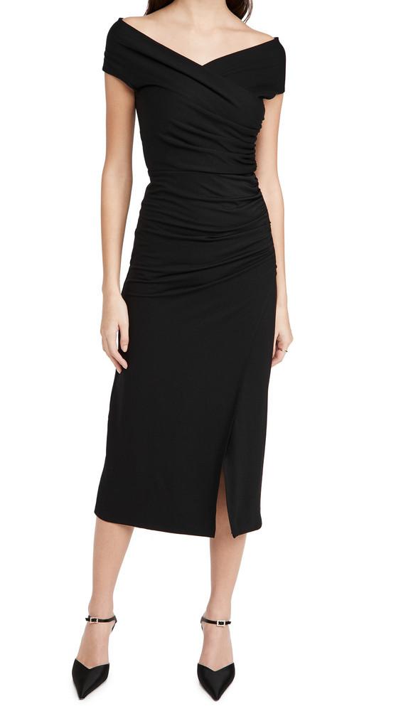 Reformation Cormac Dress in black