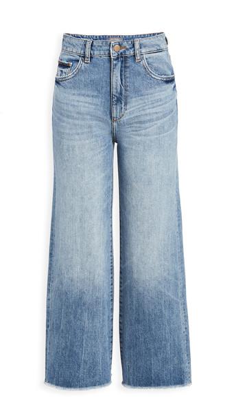 DL DL1961 Hepburn Wide Leg Jeans