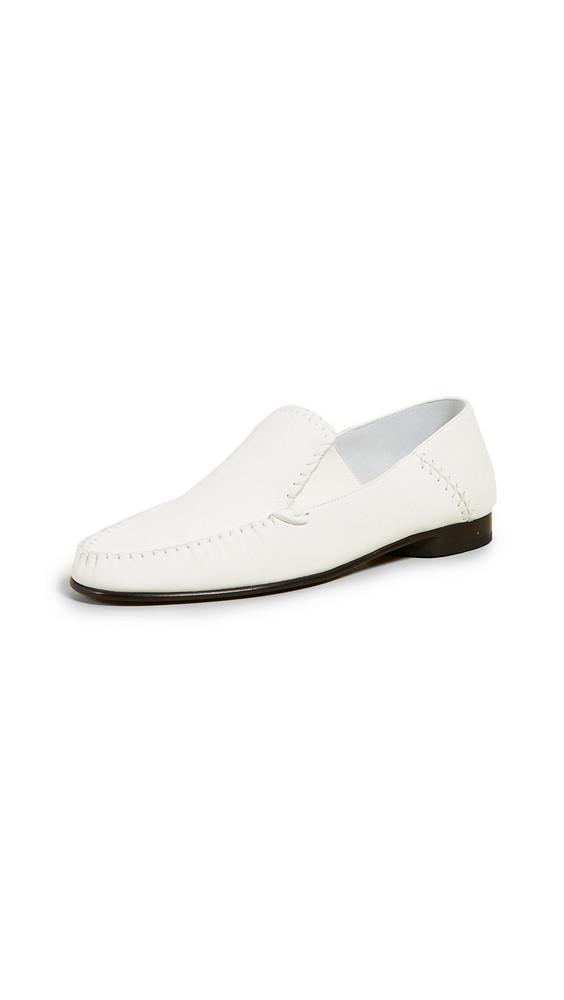 3.1 Phillip Lim Nadia Moccasin Flats in ivory