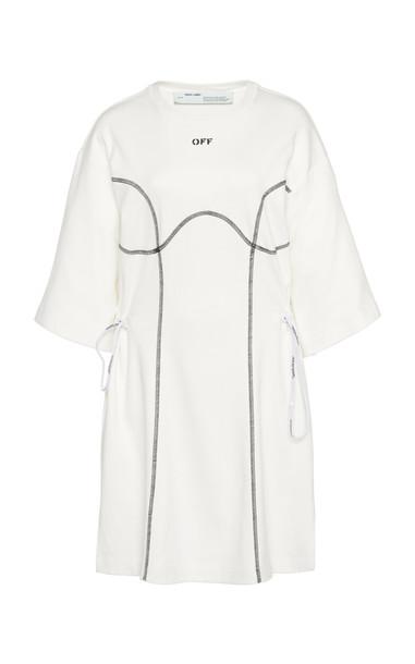 Off-White c/o Virgil Abloh Oversized Coulisse T-Shirt Dress