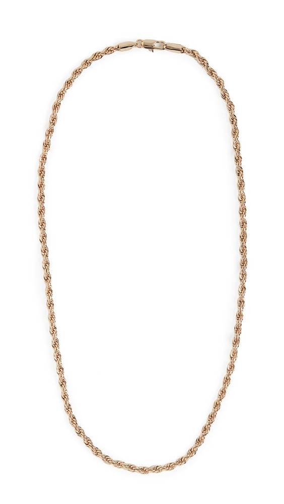 Loeffler Randall Sylvie Chain Link Necklace in gold