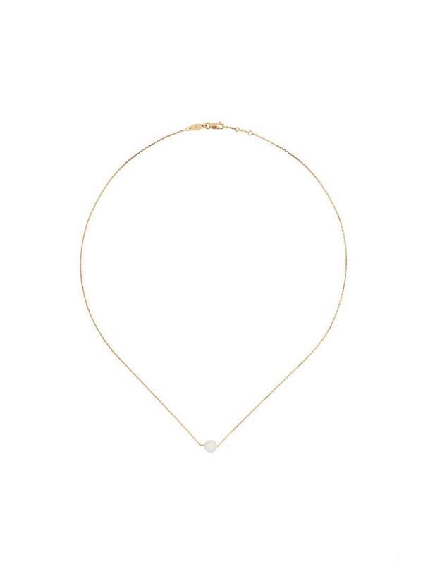 Redline 18kt gold pearl pendant necklace