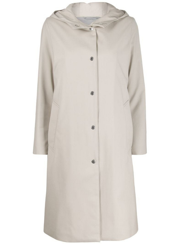 Mackintosh Chryston hooded coat - LM-1019FD in neutrals