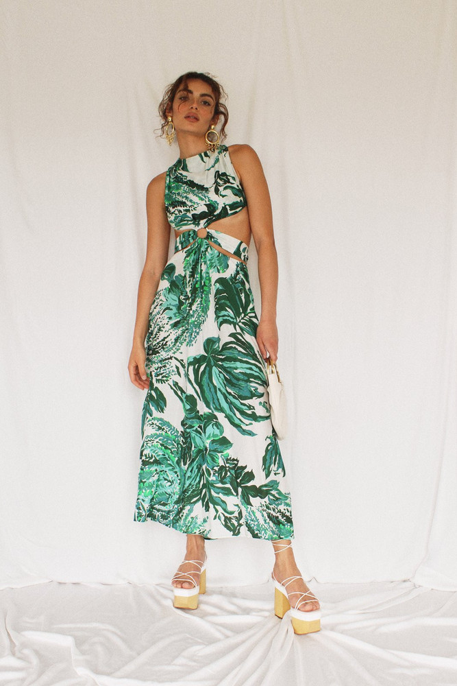 Cult Gaia Izabel Dress - Pool Multi                                                                                               $598.00